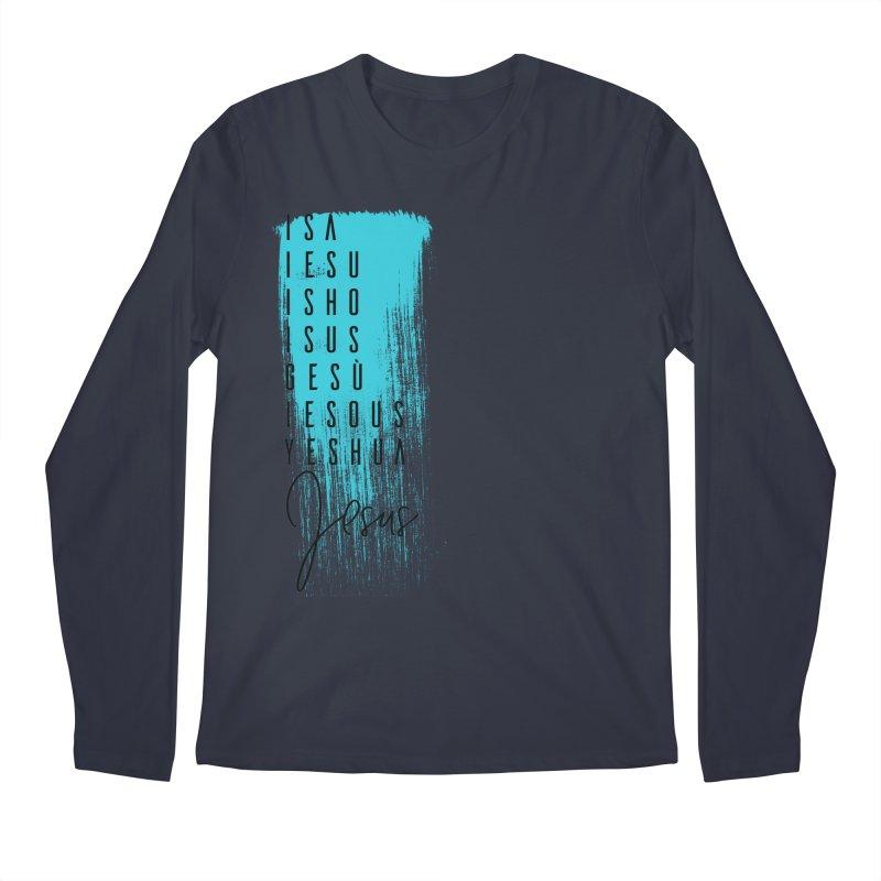 Jesus Men's Regular Longsleeve T-Shirt by XXXIII Apparel