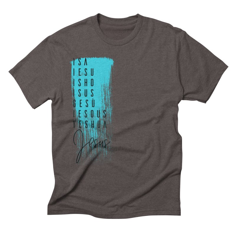 Jesus Men's Triblend T-Shirt by XXXIII Apparel