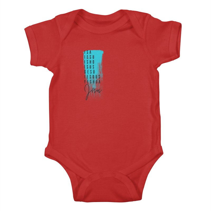 Jesus Kids Baby Bodysuit by XXXIII Apparel