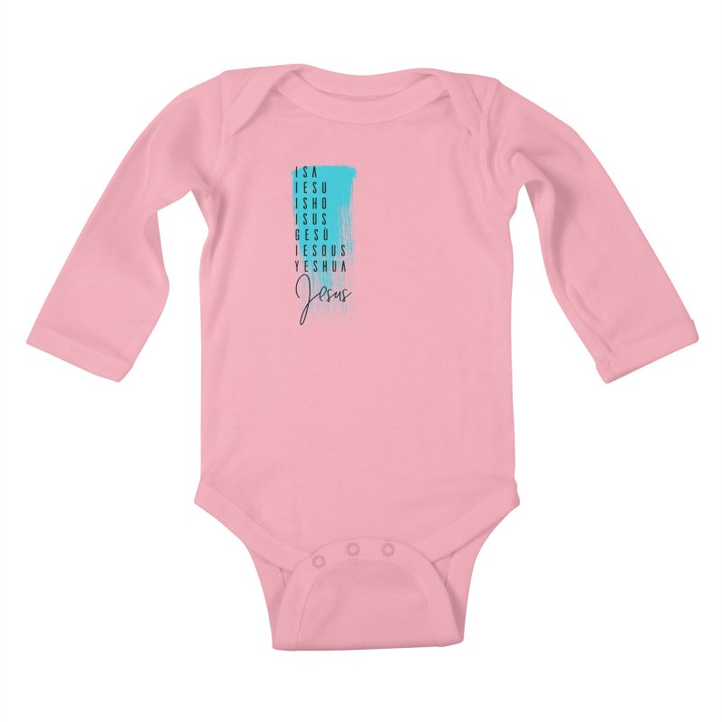 Jesus Kids Baby Longsleeve Bodysuit by XXXIII Apparel