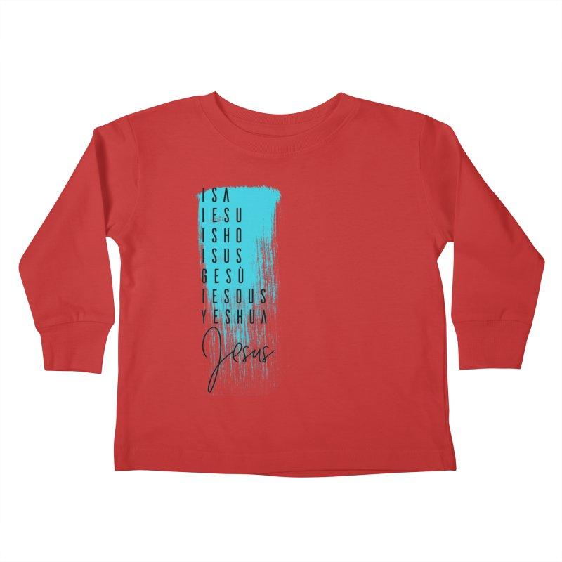 Jesus Kids Toddler Longsleeve T-Shirt by XXXIII Apparel