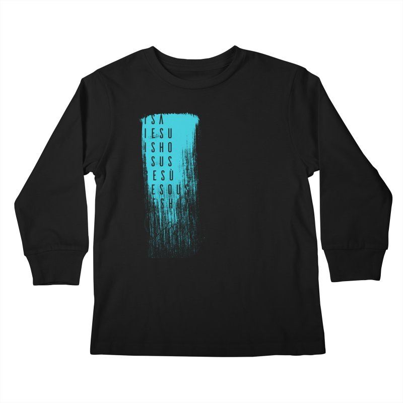 Jesus Kids Longsleeve T-Shirt by XXXIII Apparel