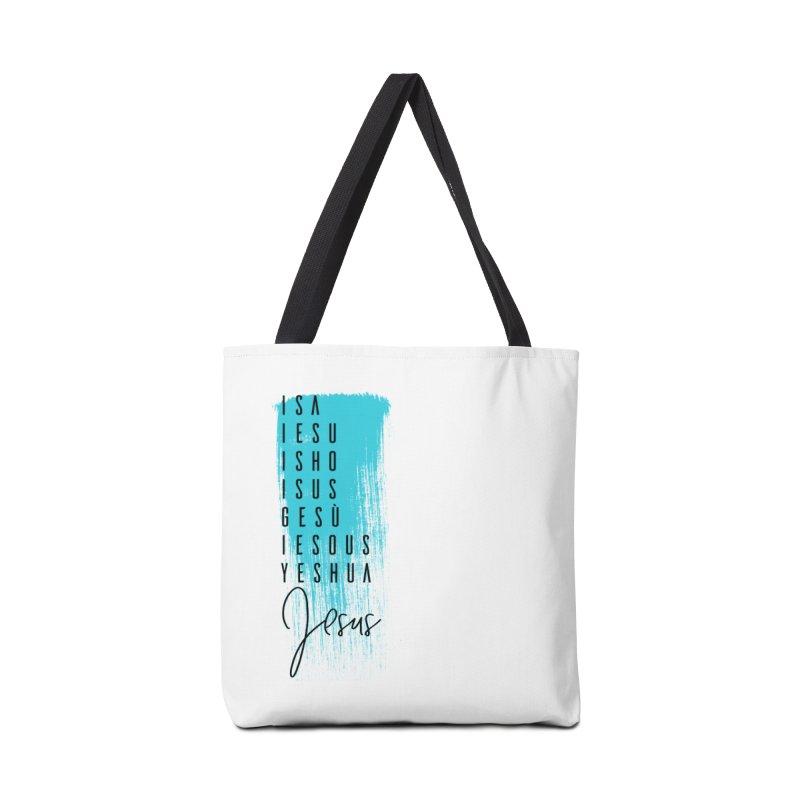 Jesus Accessories Tote Bag Bag by XXXIII Apparel