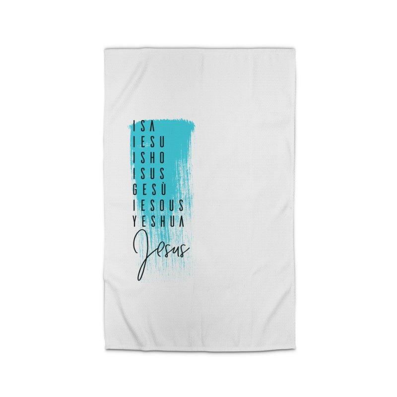 Jesus Home Rug by XXXIII Apparel
