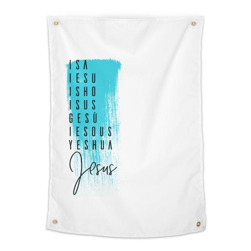 Jesus Home Tapestry by XXXIII Apparel