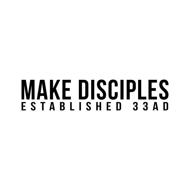 Make Disciples - Helmet Decal by XXXIII Apparel