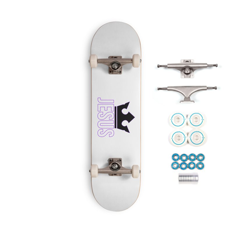 King Jesus Accessories Complete - Basic Skateboard by XXXIII Apparel