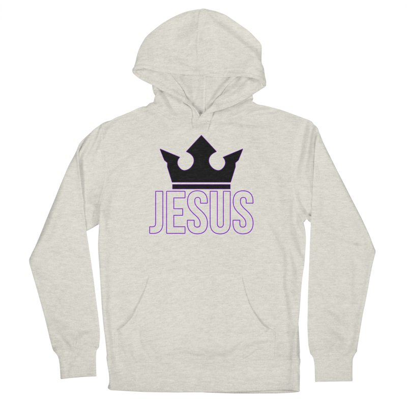 King Jesus Women's French Terry Pullover Hoody by XXXIII Apparel