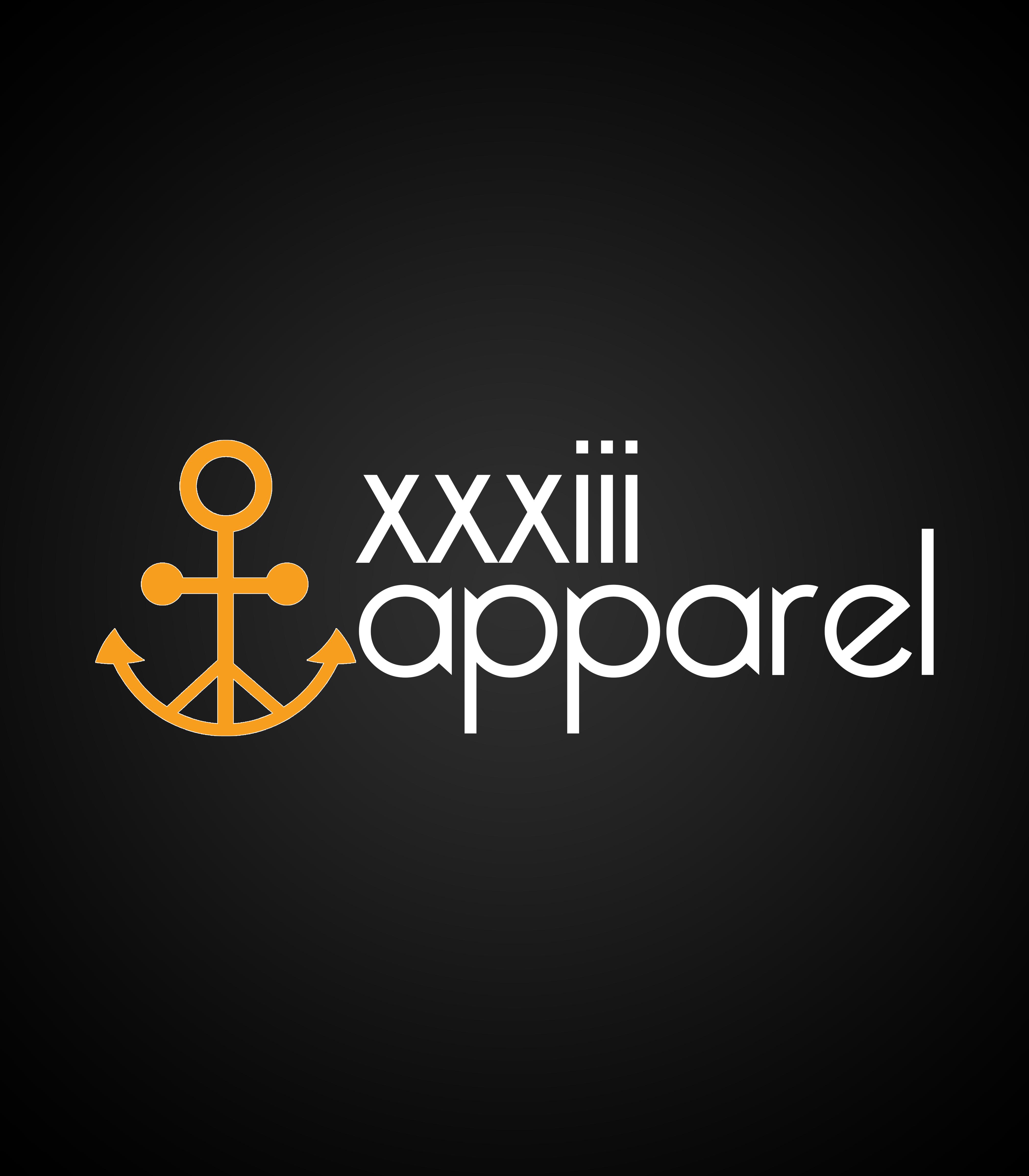 XXXIII Apparel Logo