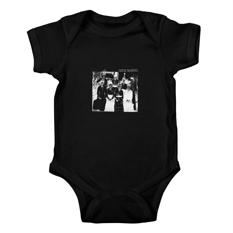 Extreme Retro Kids Baby Bodysuit by xydxydxydxydxydxyd