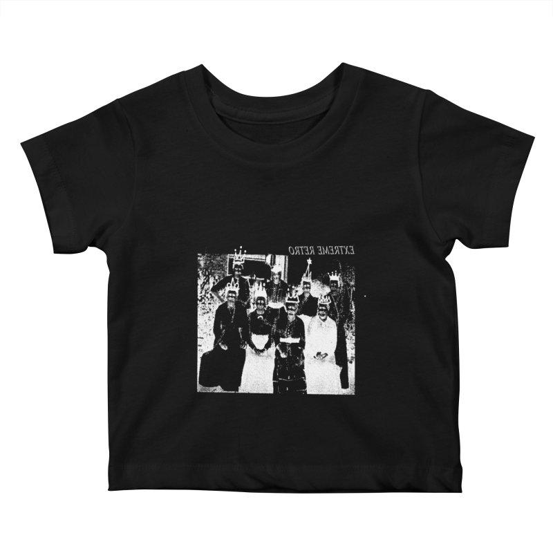 Extreme Retro Kids Baby T-Shirt by xydxydxydxydxydxyd