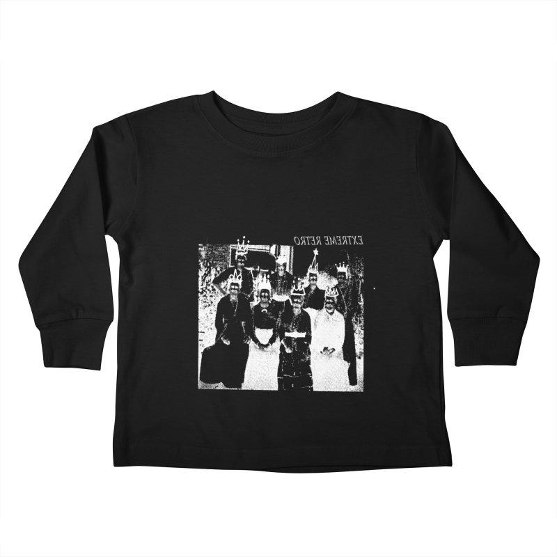 Extreme Retro Kids Toddler Longsleeve T-Shirt by xydxydxydxydxydxyd