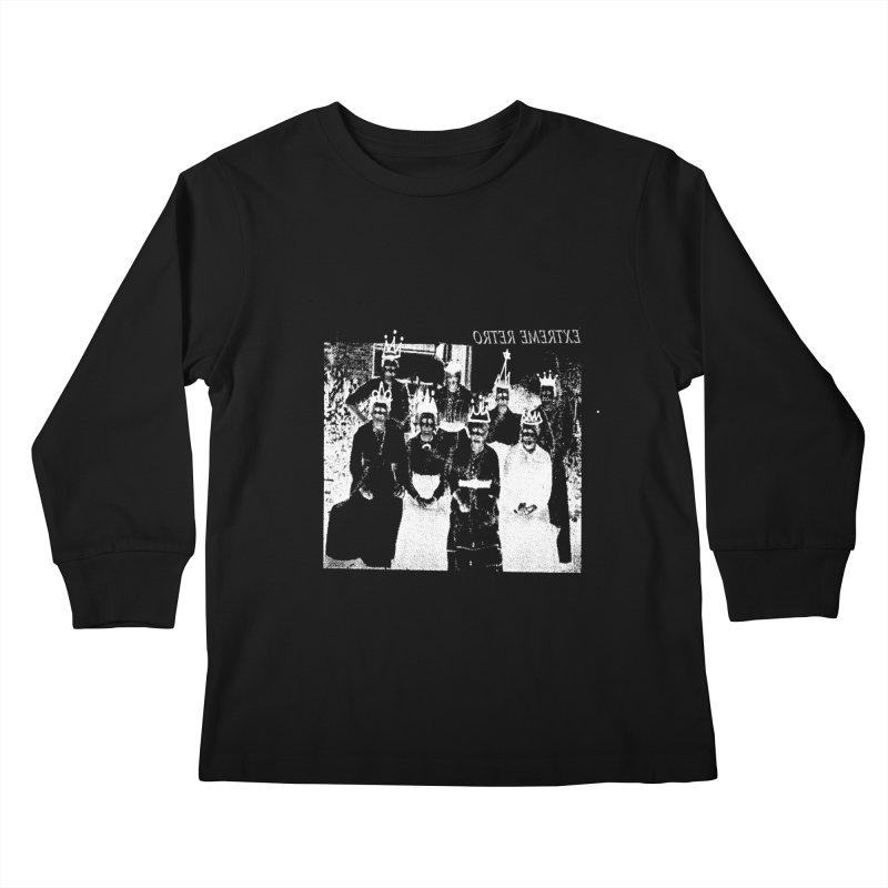 Extreme Retro Kids Longsleeve T-Shirt by xydxydxydxydxydxyd