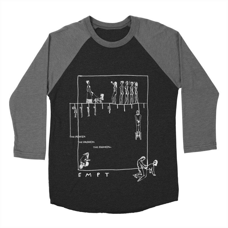 CAV EMPT Tribute Women's Baseball Triblend Longsleeve T-Shirt by xydxydxydxydxydxyd