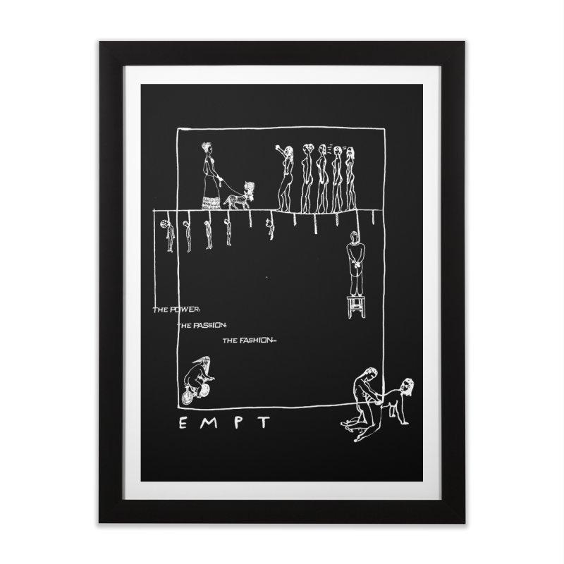 CAV EMPT Tribute Home Framed Fine Art Print by xydxydxydxydxydxyd