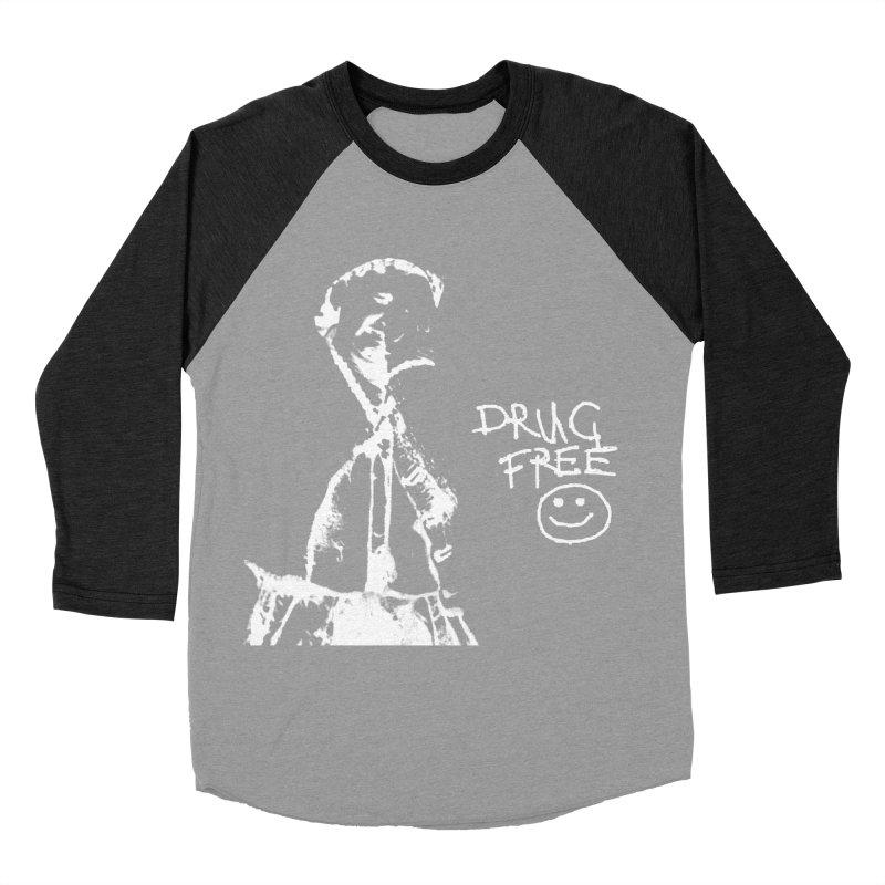 DRUG Free Women's Baseball Triblend Longsleeve T-Shirt by xydxydxydxydxydxyd