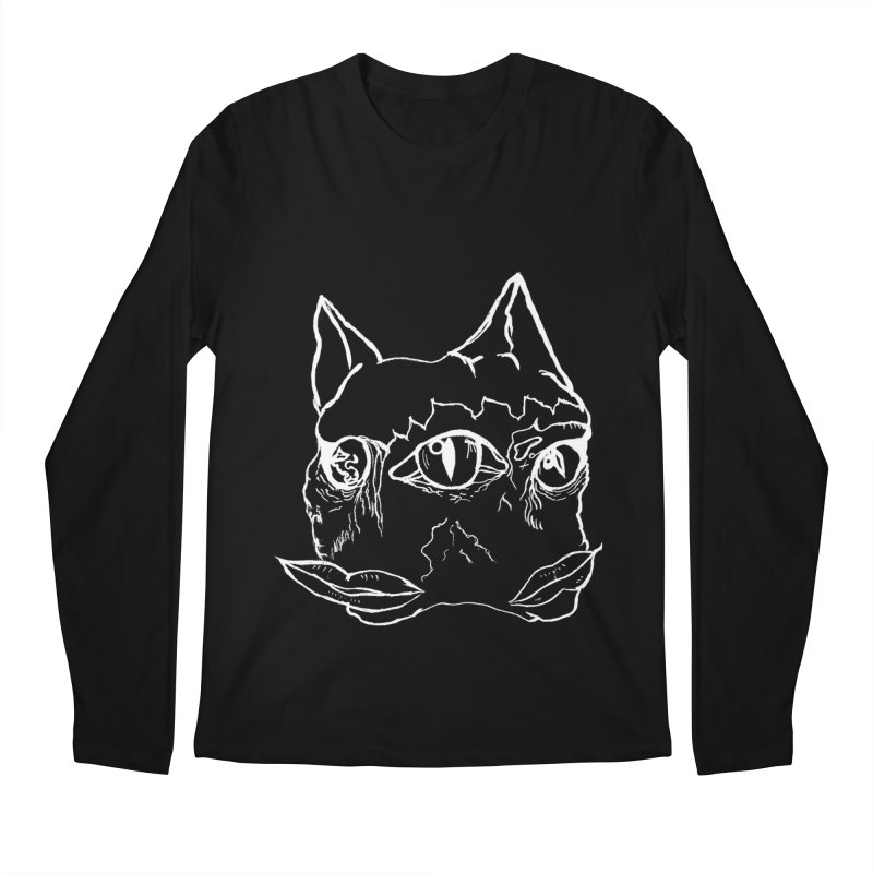 MEOW RAWWR Men's Regular Longsleeve T-Shirt by xydxydxydxydxydxyd