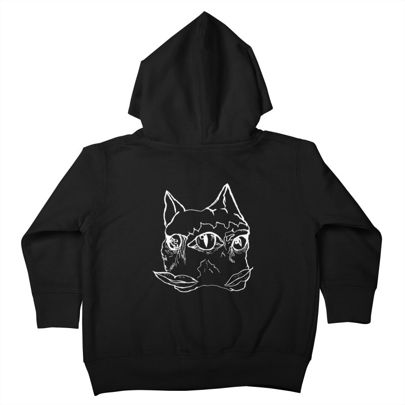 MEOW RAWWR Kids Toddler Zip-Up Hoody by xydxydxydxydxydxyd