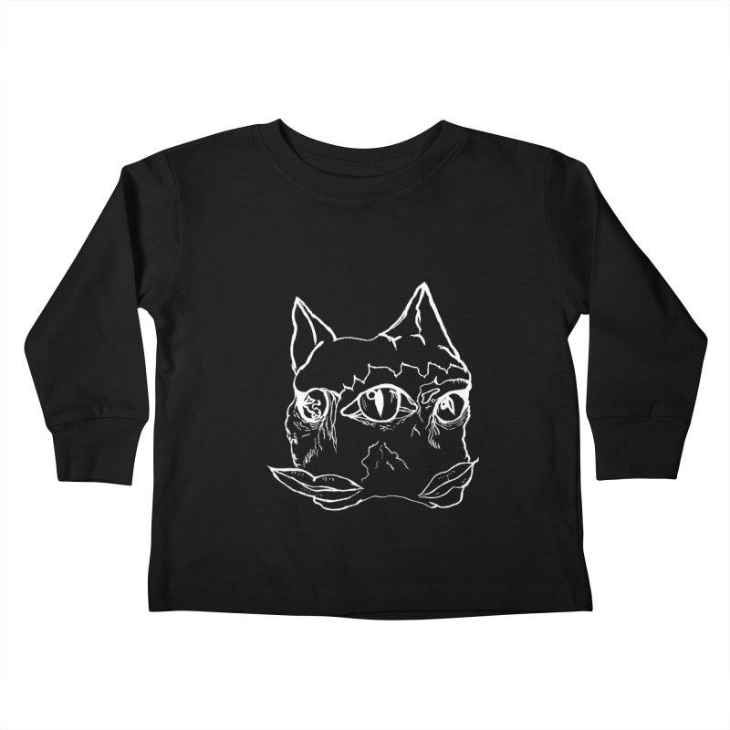 MEOW RAWWR Kids Toddler Longsleeve T-Shirt by xydxydxydxydxydxyd