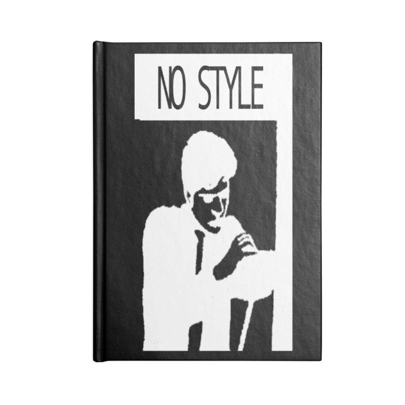 Style A'int Accessories Blank Journal Notebook by xydxydxydxydxydxyd