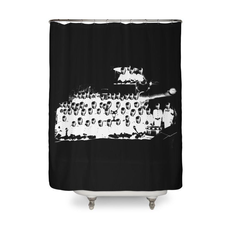 Symposium Home Shower Curtain by xydxydxydxydxydxyd