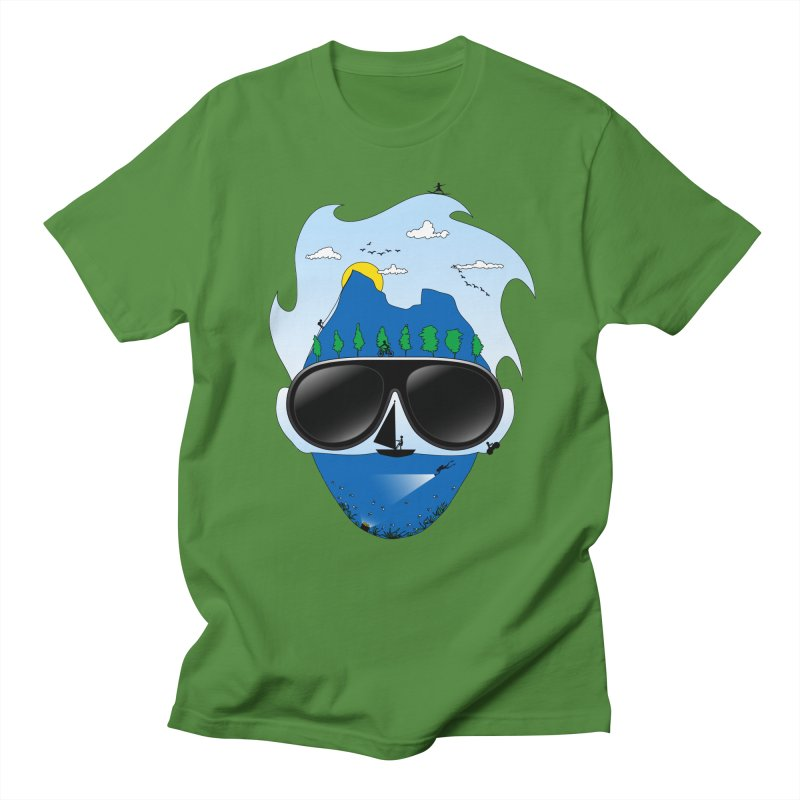 Mr. Adventure Men's Regular T-Shirt by xylentphree's Artist Shop