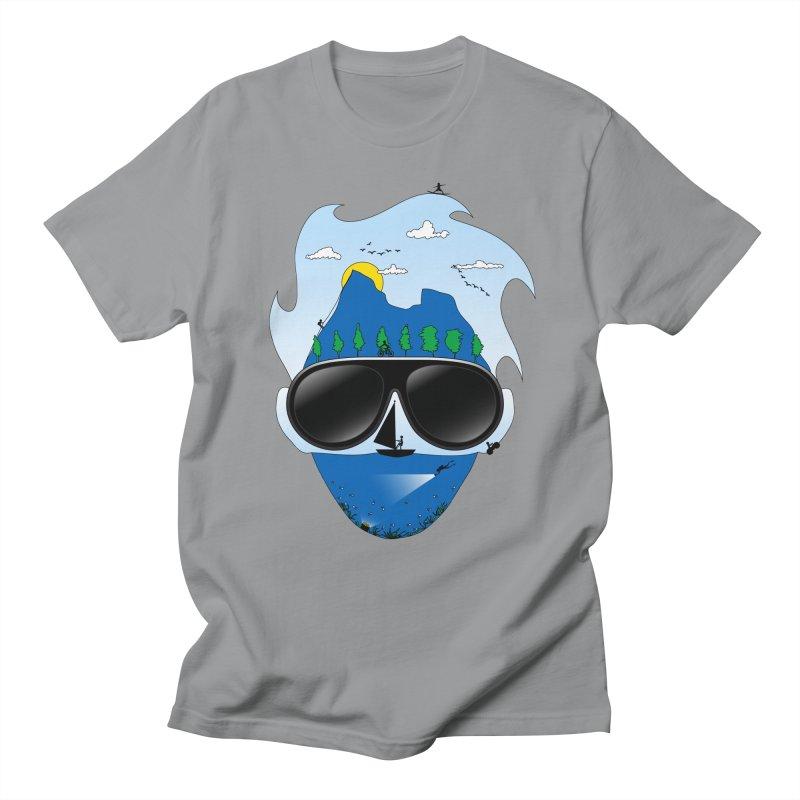 Mr. Adventure Men's T-Shirt by xylentphree's Artist Shop