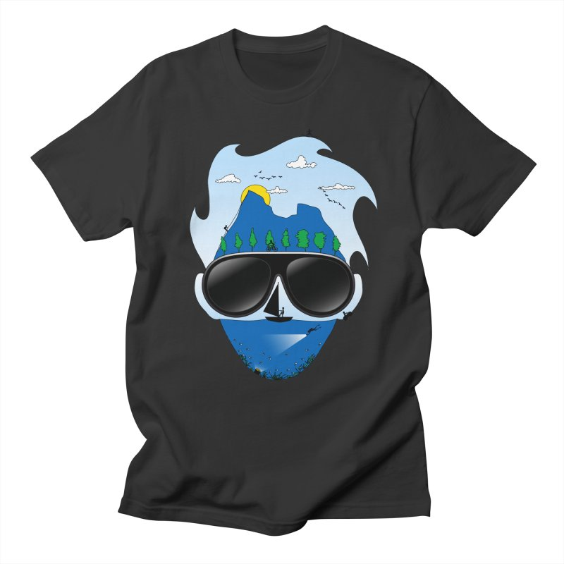 Mr. Adventure Men's T-shirt by xylentphree's Artist Shop