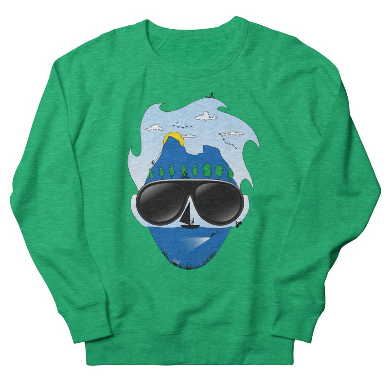 Mr. Adventure Men's Sweatshirt by xylentphree's Artist Shop