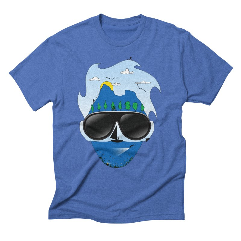 Mr. Adventure Men's Triblend T-shirt by xylentphree's Artist Shop