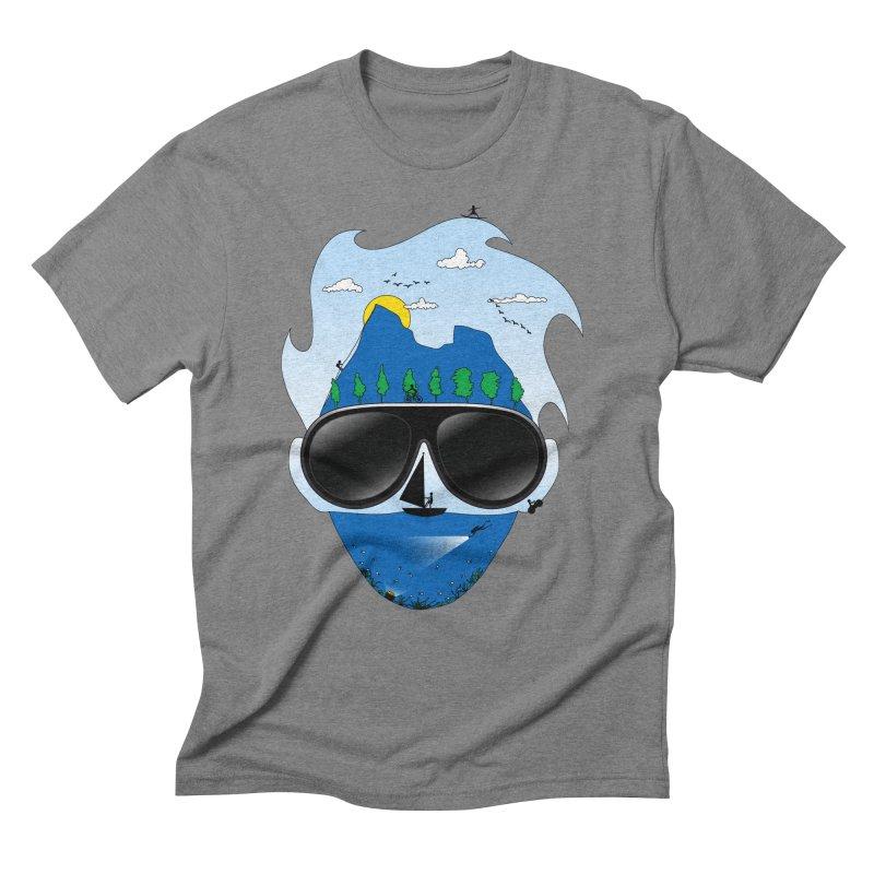Mr. Adventure Men's Triblend T-Shirt by xylentphree's Artist Shop