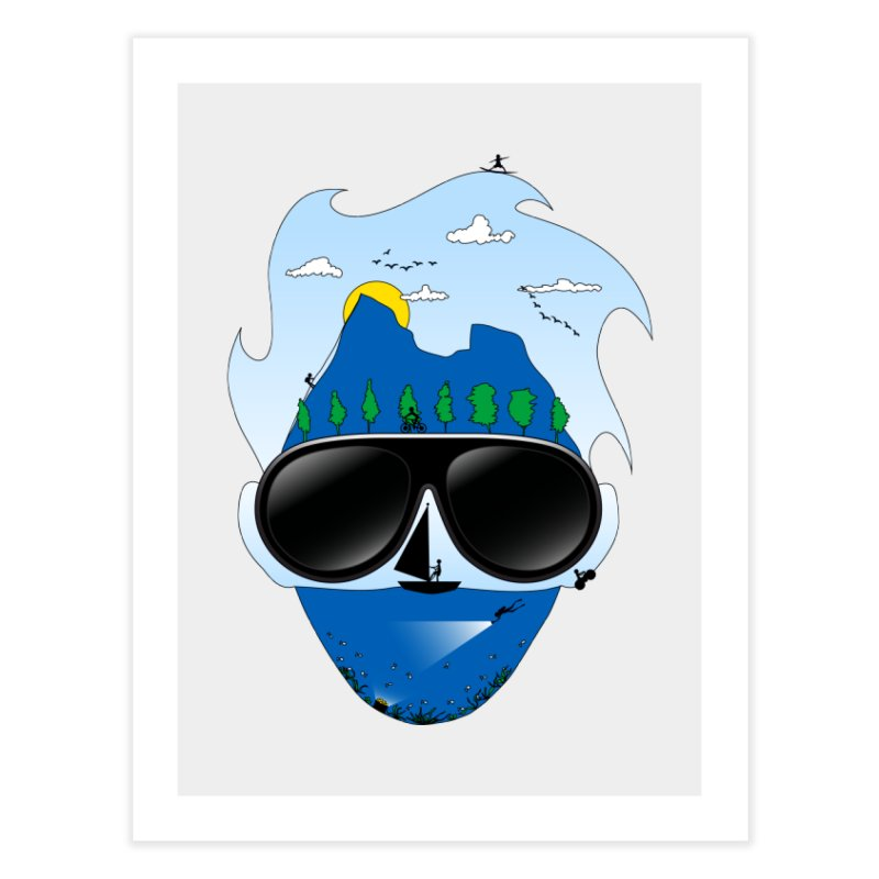 Mr. Adventure Home Fine Art Print by xylentphree's Artist Shop