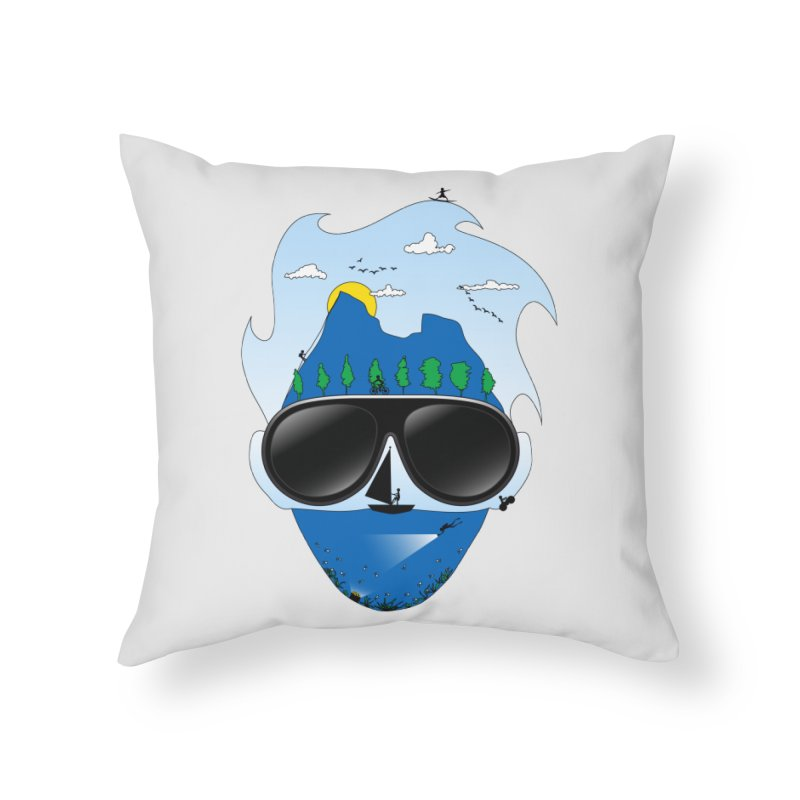 Mr. Adventure Home Throw Pillow by xylentphree's Artist Shop