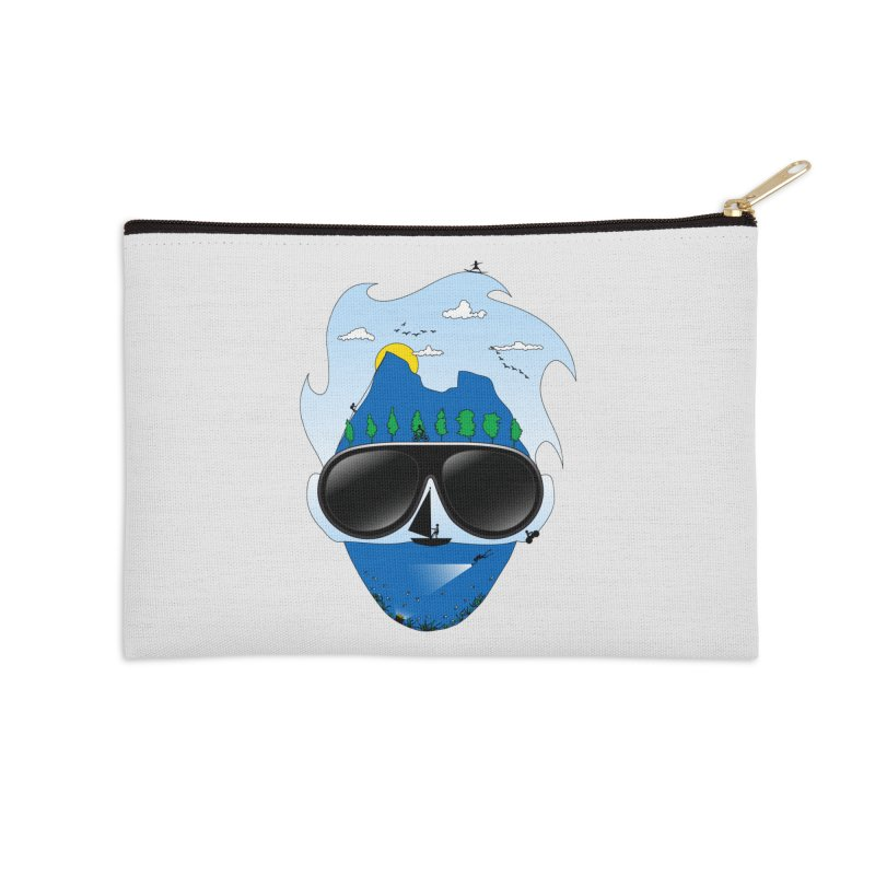 Mr. Adventure Accessories Zip Pouch by xylentphree's Artist Shop