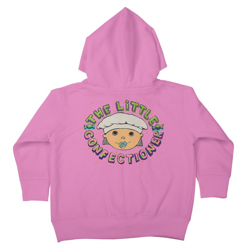 The Little Confectioner Kids Toddler Zip-Up Hoody by xylentphree's Artist Shop
