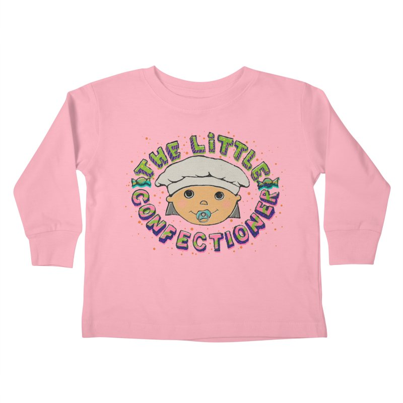 The Little Confectioner Kids Toddler Longsleeve T-Shirt by xylentphree's Artist Shop