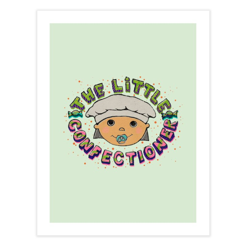 The Little Confectioner Home Fine Art Print by xylentphree's Artist Shop
