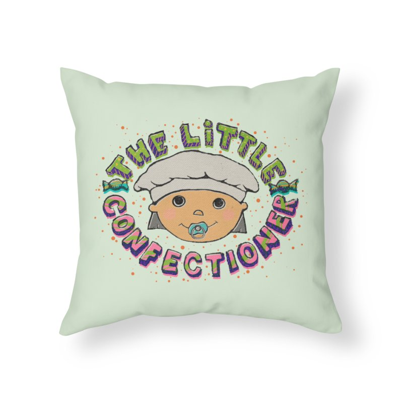 The Little Confectioner Home Throw Pillow by xylentphree's Artist Shop