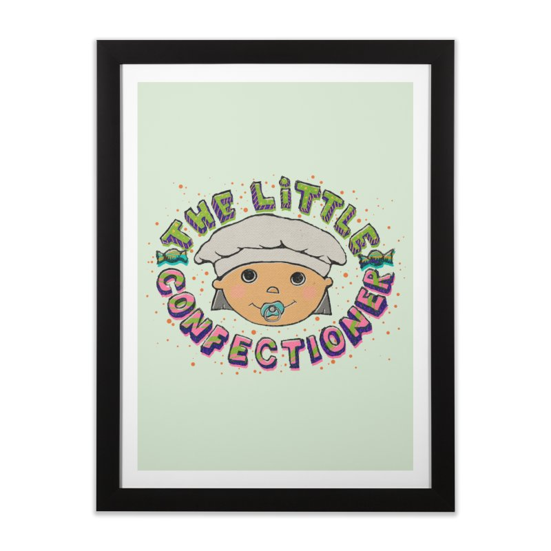 The Little Confectioner Home Framed Fine Art Print by xylentphree's Artist Shop