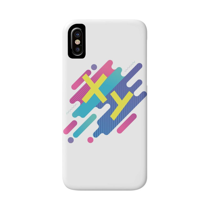 XY Circuit Accessories Phone Case by XY The Brand