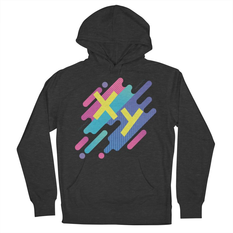 XY Circuit Men's French Terry Pullover Hoody by XY The Brand