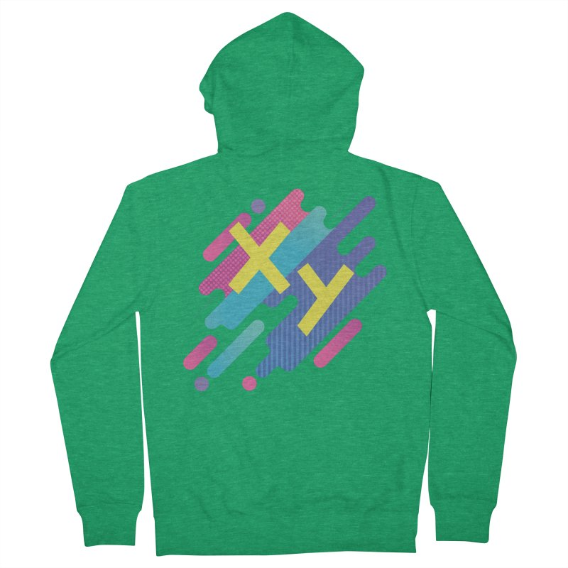 XY Circuit Men's French Terry Zip-Up Hoody by XY The Brand