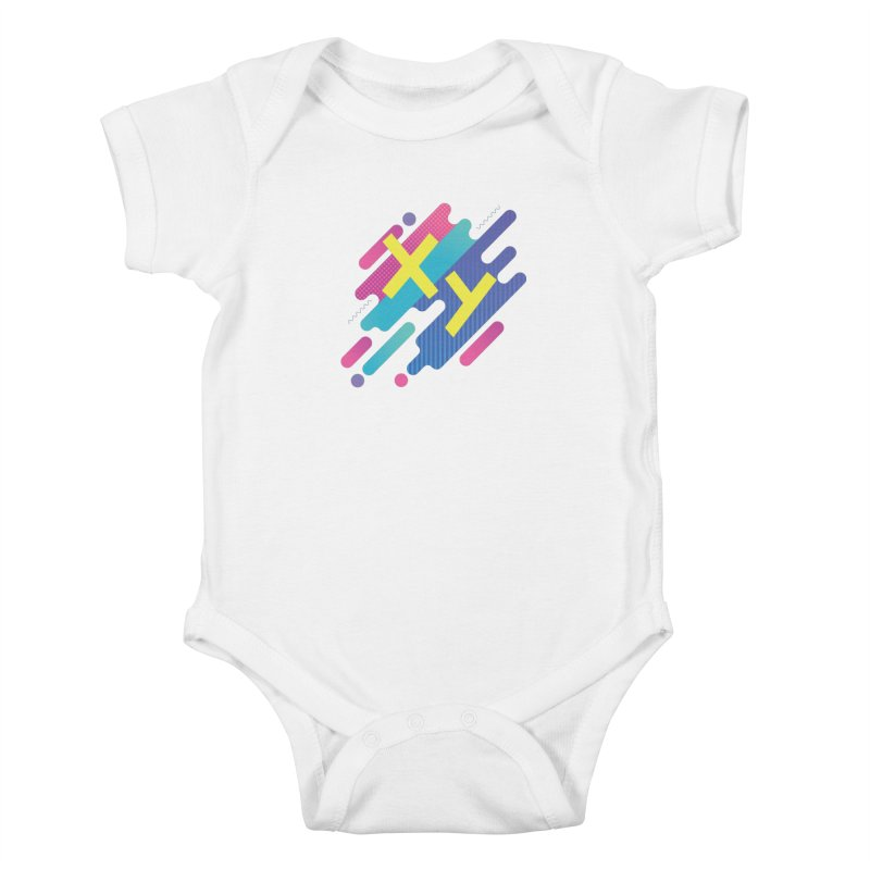 XY Circuit Kids Baby Bodysuit by XY The Brand