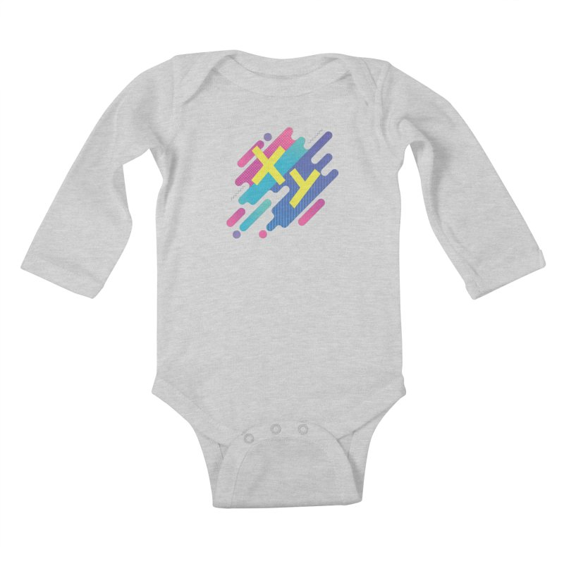 XY Circuit Kids Baby Longsleeve Bodysuit by XY The Brand