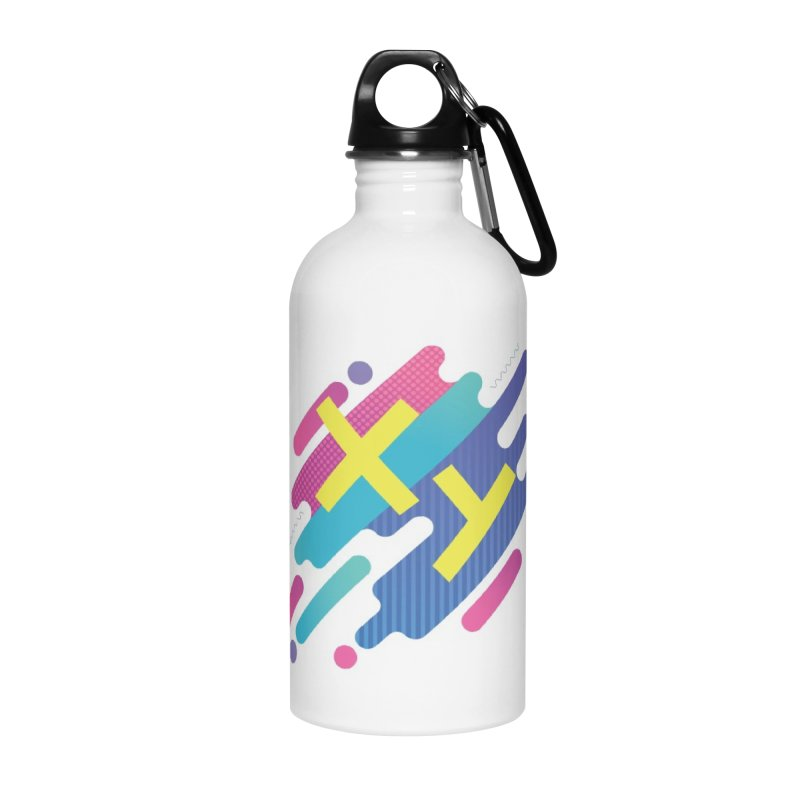 XY Circuit Accessories Water Bottle by XY The Brand