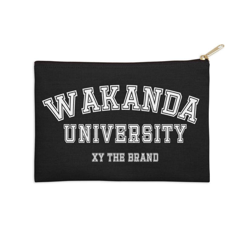Wakanda University Accessories Zip Pouch by XY The Brand