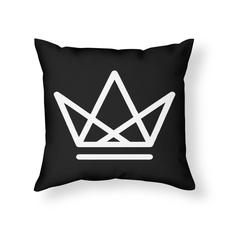 Triangles by XY Home Throw Pillow by XY The Brand