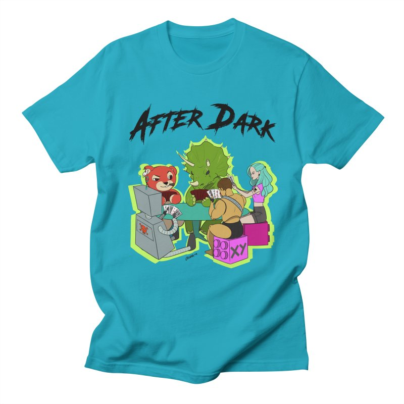 After Dark by XY Women's Regular Unisex T-Shirt by XY The Brand