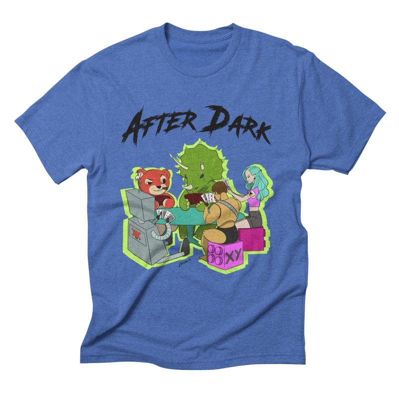 After Dark by XY Men's Triblend T-Shirt by XY The Brand