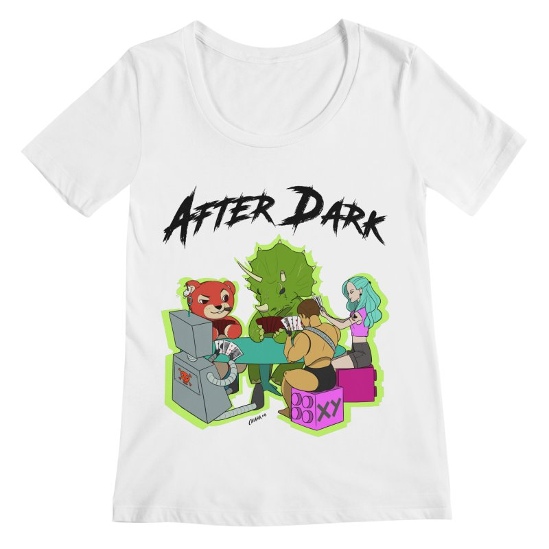 After Dark by XY Women's Regular Scoop Neck by XY The Brand